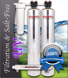 Water Filtration, Salt Free Conditioner, UV